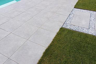 Cerapro 60x60x3 cm cimenti clay grey rectified zonder afstandhouder