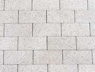 Reflex betonstraatsteen 8 cm white 154a komo