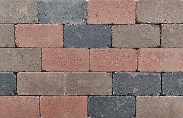 Antieke trommel betonstraatsteen 6 cm nieuw veendam