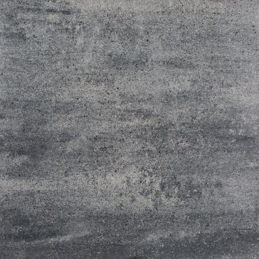 H2O square 60x60x5 cm nero/grey