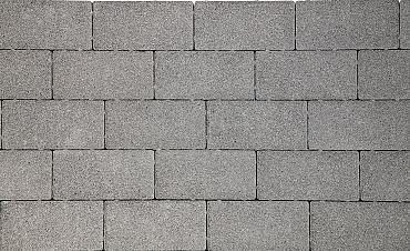 Nature top betonstraatsteen 8 cm spotted grey mini facet komo