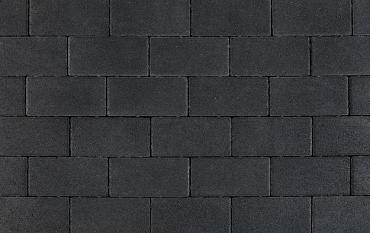 Nature top betonstraatsteen 6 cm black mini facet komo