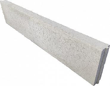 Betonband 6x20x100 grijs