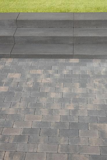 Design brick 6 cm dark sepia mini facet komo