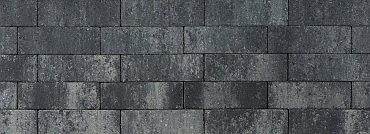 Longstone opritsteen 31,5x10,5x7 cm grijs/zwart