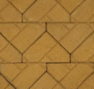 Bisschopsmuts 8 cm geel komo