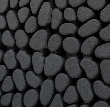 Keigrassteen 45x45x10 cm antraciet