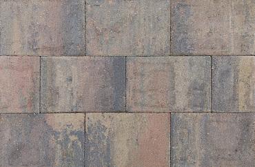 Straksteen 20x30x6 cm bruin gv