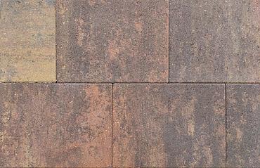 Straksteen 40x30x6 cm bruin gv