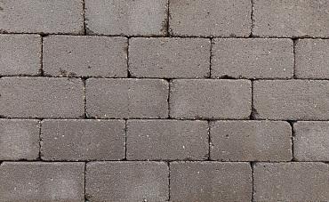 Antieke trommel betonstraatsteen 6 cm mangaan