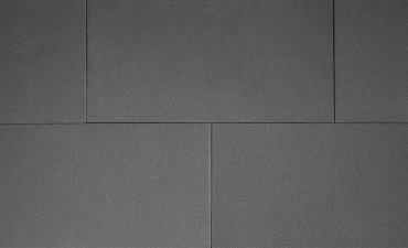 H2O square 40x80x5 cm black