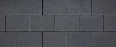 Design square 20x30x4 cm black