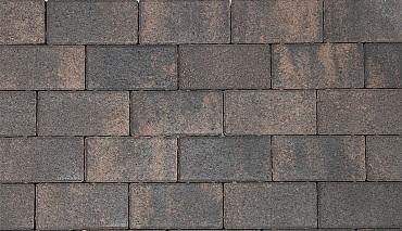 Nature top betonstraatsteen 8 cm rusty black mini facet komo