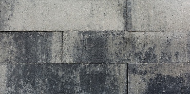 Linea 15x15x60 cm grijs/zwart