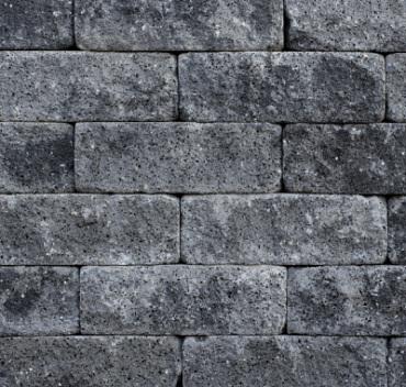 Splitrock trommel 32x13x11 cm grijs/zwart