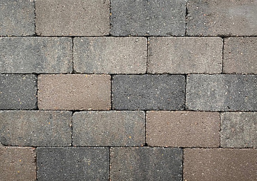 Antieke trommel betonstraatsteen 6 cm oud drachten