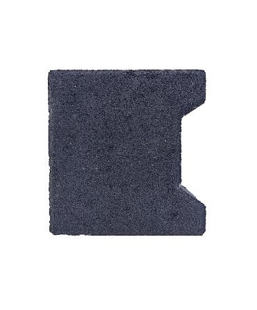 H-verbandsteen begin/eind 8 cm antraciet