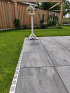 Aquadrain 100x10x6,5 cm grey grating