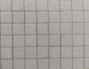 Betonstraatsteen half 6 cm grijs