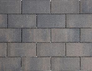 Design brick 8 cm dark sepia mini facet komo