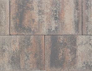 Patio square 60x30x5 cm tricolore