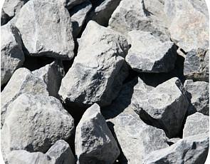 Big bag basalt split 30-60 mm zwart (ca. 1.000 kg)