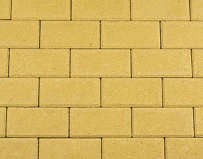 Betonstraatsteen 8 cm geel komo