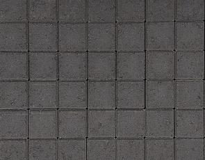 Betonstraatsteen half 6 cm antraciet