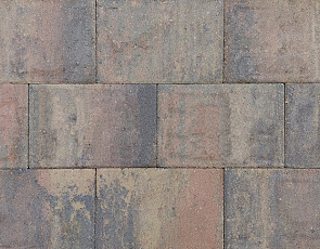 Straksteen 20x30x5 cm bruin gv