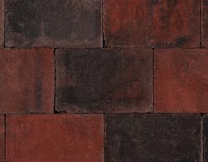 Trommel 20x30x6 cm rood/zwart