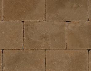 Trommel 20x30x6 cm camel