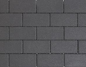 Design brick 6 cm black mini facet komo