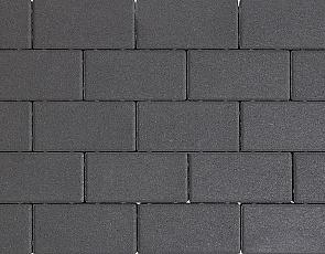 Design brick 8 cm black mini facet komo