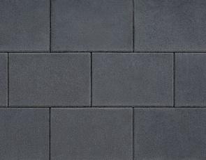 Design square 20x30x6 cm black