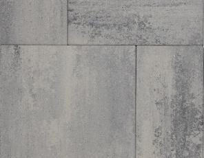 Patio mixed 4 cm nero/grey