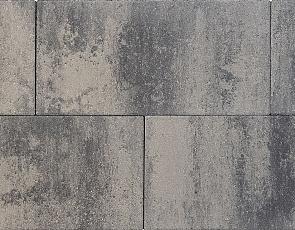 Patio square 60x30x5 cm nero/grey