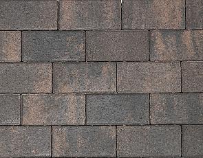 Nature top betonstraatsteen 6 cm rusty black mini facet komo