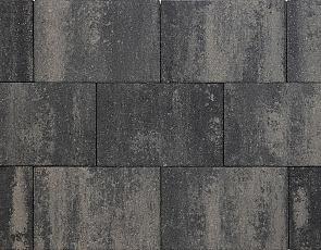Nature top 20x30x6 cm nero/grey