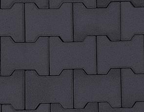 S-top H-verbandsteen 8 cm antraciet komo