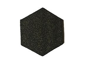 Zachte plakzegel zeskant 110x4